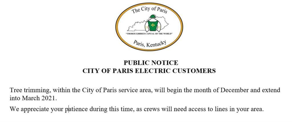 Paris Ky Official City Website